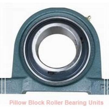 35 mm x 142.8 to 149.2 mm x 3 in  Dodge P2BE035MR Pillow Block Roller Bearing Units