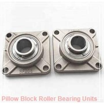 1.6250 in x 6.88 to 7.63 in x 3.38 in  Dodge P2BDI110RE Pillow Block Roller Bearing Units