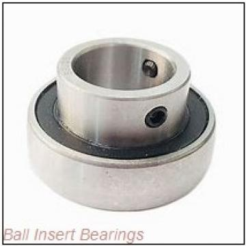 1.2500 in x 2.8350 in x 1.6875 in  Nice Ball Bearings (RBC Bearings) ER20SFR Ball Insert Bearings