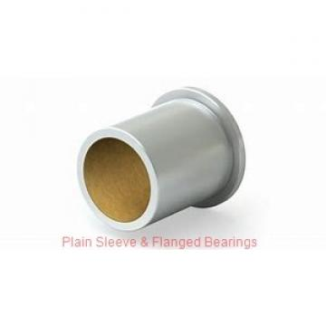Bunting Bearings, LLC AA110403 Plain Sleeve & Flanged Bearings