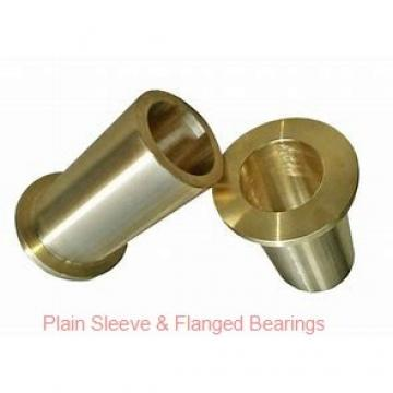 Bunting Bearings, LLC AA120602 Plain Sleeve & Flanged Bearings