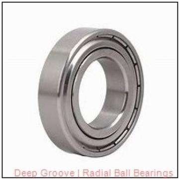 0.2500 in x 0.6875 in x 0.3125 in  Nice Ball Bearings (RBC Bearings) FSRM042205BF18 Radial & Deep Groove Ball Bearings